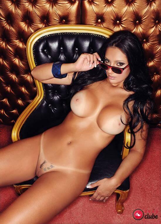 Fotos Dieine Eider nua na Revista Sexy