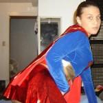 Supergirl safadinha