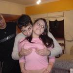 Novinha dando a buceta na Lan House
