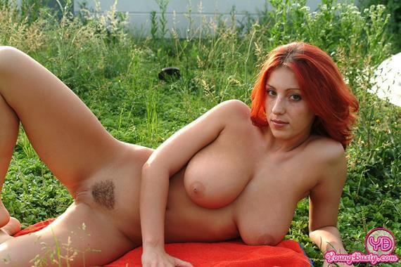 Fotos ruiva peituda muito gostosa pelada