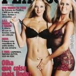 Ticiane Pinheiro e Helô Pinheiro peladas na Playboy