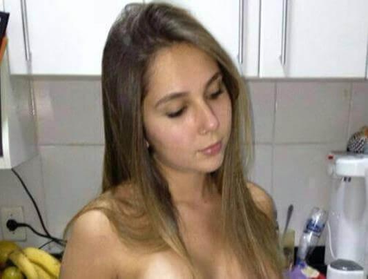 Mulher de jogador vazou no zap 7