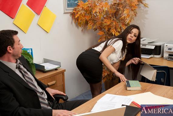 Porno no escritorio