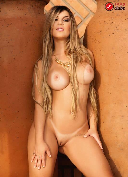 Gabi Pierucci nua revista Sexy