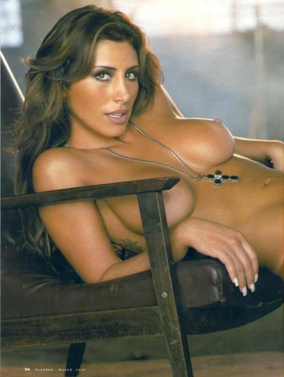 Jaque Khury nua e pelada na Playboy