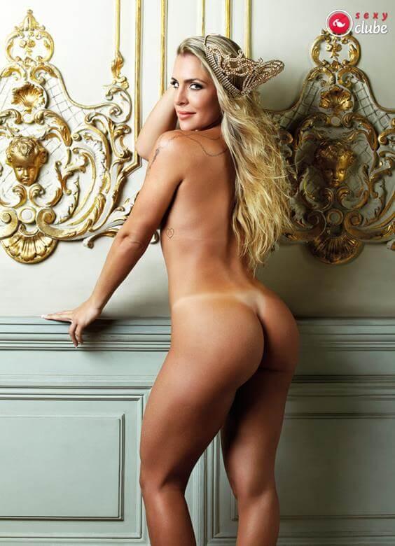 Joana Machado nua e pelada na revista Sexy
