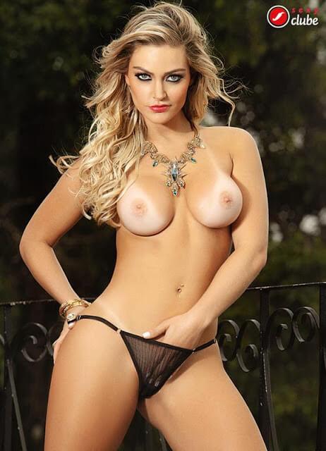 Laura Keller nua revista Sexy