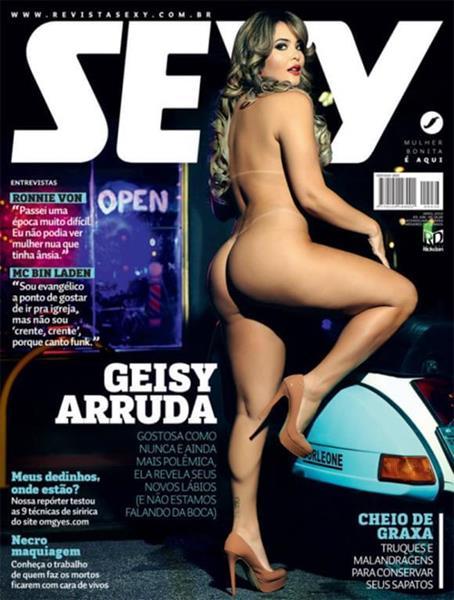Geisy Arruda nua na revista Sexy de abril de 2016