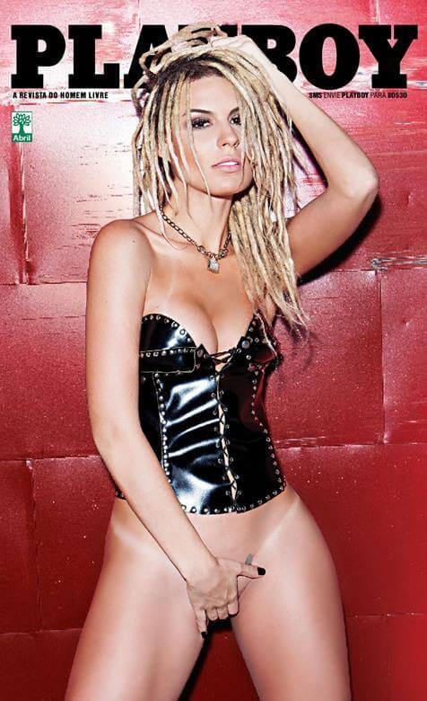 mendigata nua na revista Playboy