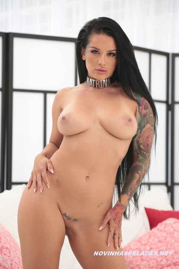 Pornstar Katrina Jade pelada